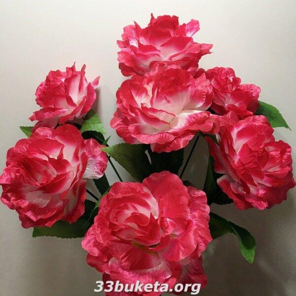 Роза атлас 7 больших голов
