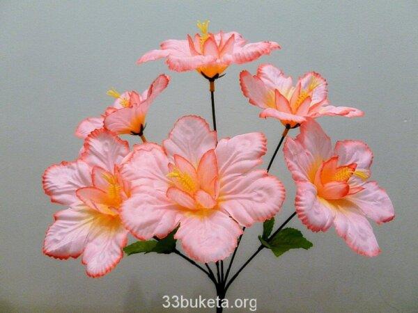 Нарцисс 6 цветков маленький букет