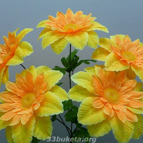 Гербера гигант 5 цветков