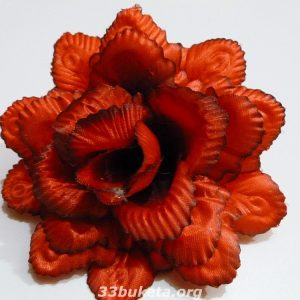 Цветочная головка Роза павлин Ø13.5см.