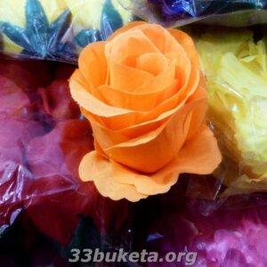 Бутон розы атлас