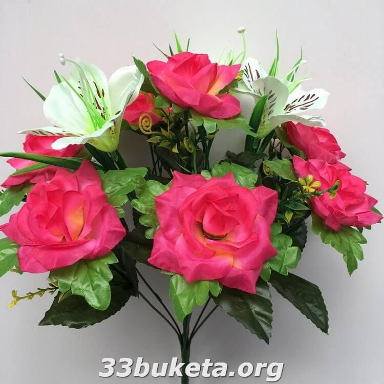 Роза+лилия