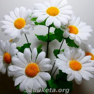 Ромашка 9 цветков