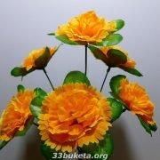 Гвоздика с розеткой Г-193 6 цветков