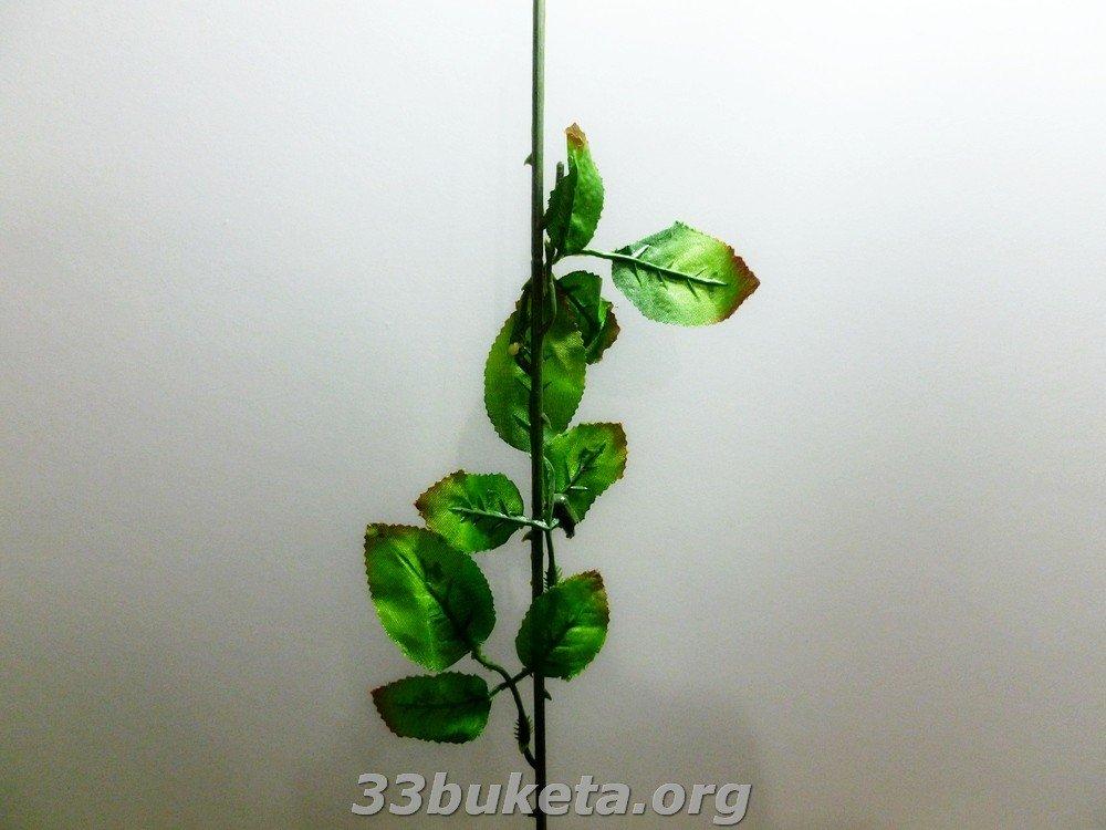 Ножка одиночная роза 60 см.