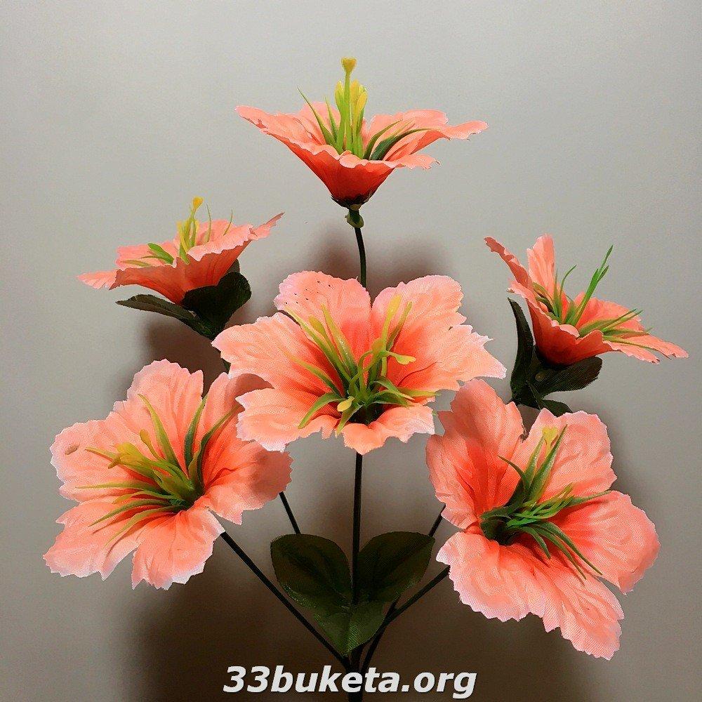 Звездочка 6 цветков маленькие букеты
