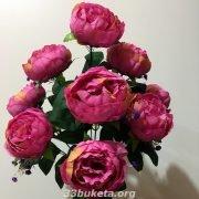 Пион 10 цветков сушка