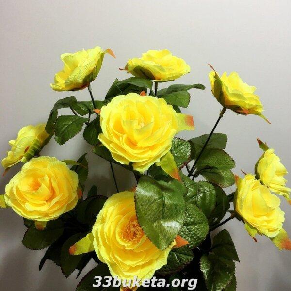 Камелия на 9 цветков