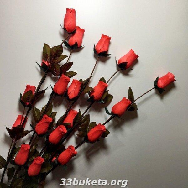 Декоративная роза сушка