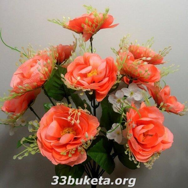 Роза фатин 12 голов