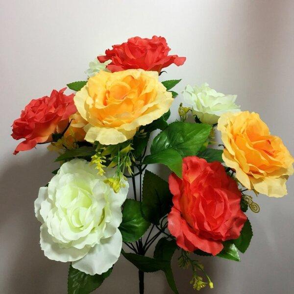 Роза Р-204 3-х цветная