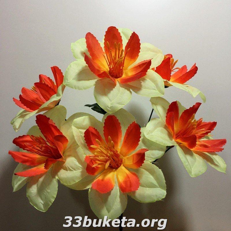Ананас не прессованный 6 цветков РЛ-6