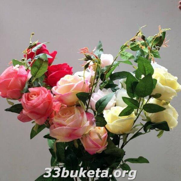 Роза ветка 3-ка