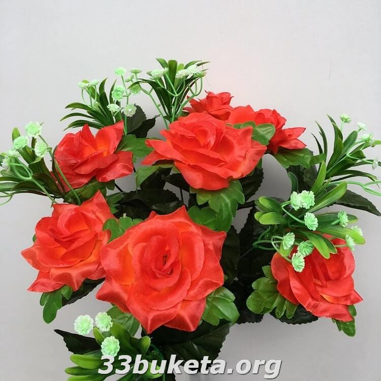 Роза не прессованная