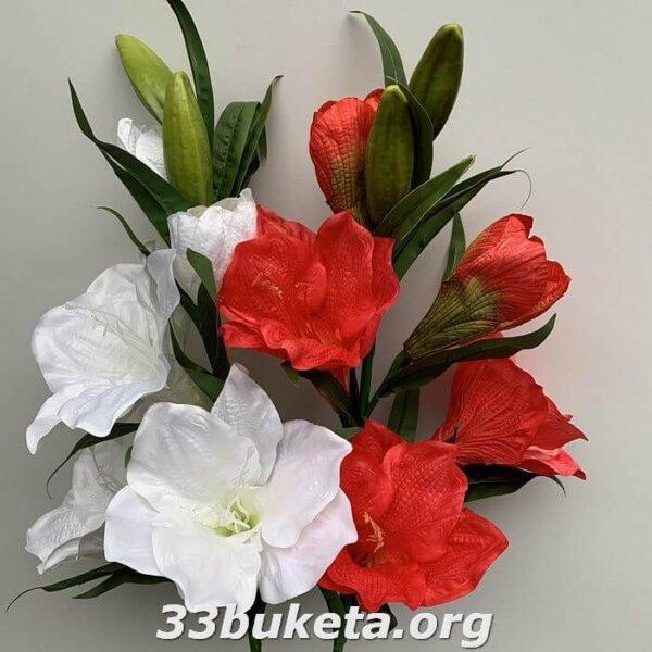 Ветка цветов амариллиса