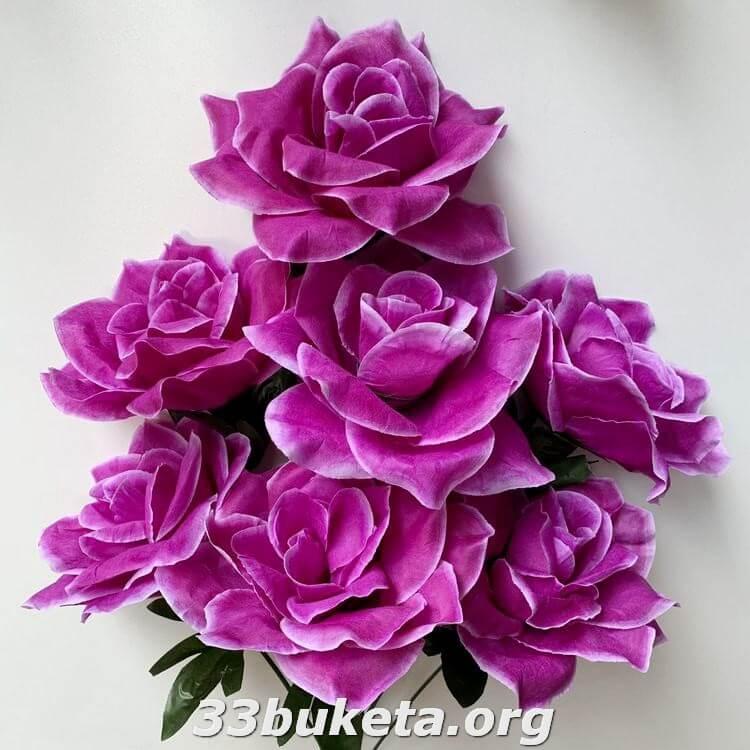 Роза высокая