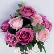 Роза 2-х цветная